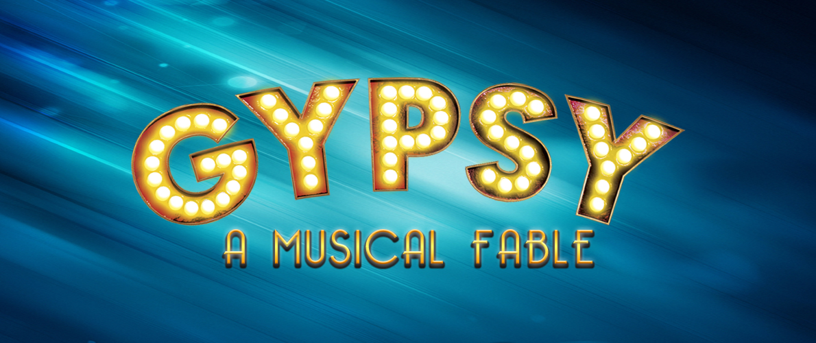 Gypsy: A Musical Fable–show logo